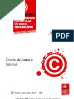 PPT 3 - Direito de Autor e Internet