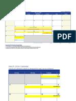 MOT Calendar Sem 2 2015.2016