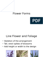 flower arrangement types
