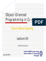 SE - Lecture 03-30 [OOP in C++]