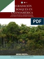 Degradación de Bosques en Latinoamérica_ibero Redd-2016