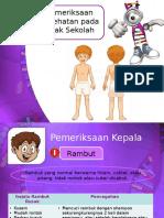 Pemeriksaan Kesehatan Pada Anak Sekolah