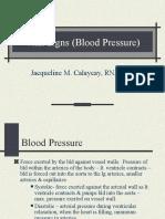 Blood Pressure Taking