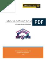 Modul Kanban Game 2014