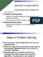 Algorithms and Flowcharts 1