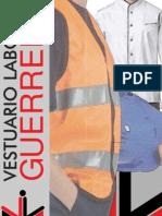 Catalogo Ropa Laboral - Agrupacion Guerrero