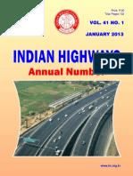 Indian Highways Vol.41 1 Jan 13