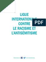 Rapport d'Activités de la Licra - 2015