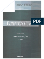 FACHIN, Luiz Edson. Direito Civil - Sentidos, Transformações e Fim (2015)