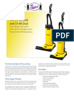 The CV 38 Dual and CV 48 Dual Dual Motor Vacuums with HEPA Filtration and Unmatched Performance.