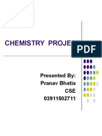 Revised Chemistry Project