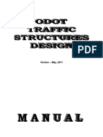 Traffic Structures Design Manual