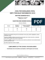 [Specialist] 2010 TSFX Exam 2
