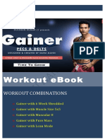 GAINER Workout Plan by Guru Mann