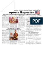 March 16 - 22, 2016  Sports Reporter