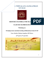 Maths Resource Material 2015 for Teachers