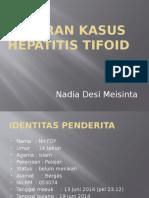 Laporan Kasus Hepatitis Tifosa