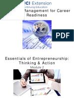 Entrepreneurship Module2 Part1