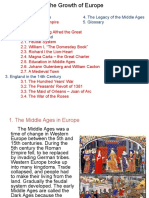 The Growth of Europe