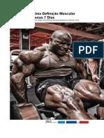 Como Atingir Uma Definição Muscular Máxima Em Apenas 7 Dias