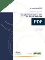 DEA 01 - Geração Distribuída No Horário de Ponta