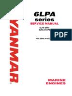 Yanmar Marine Engine 6LPA-STP2, 6LPA-STZP2 Service Repair Workshop Manual DOWNLOAD