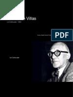 Corbusier - brochure Immeuble Villas