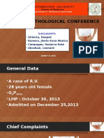 Clinicopathological Conference OB-GYN Deepak