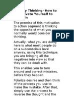 Polarity Thinking