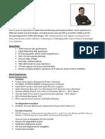 Hasib_resume_Radio Design and Optimization