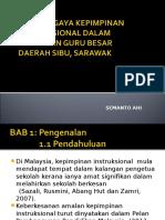 Amalan Gaya Kepimpinan Instruksional Dalam Kalangan Guru Besar
