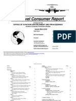 Air Travel Consumer Report, March 2016