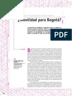 Movilidad Para Bogota