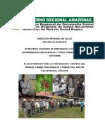 Plan Anual Para La Pyc -Dengue,Chikungunya y Fiebre Zika, Bagua..2016