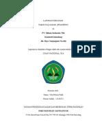 Contoh laporan prakerin di PT.Telkom