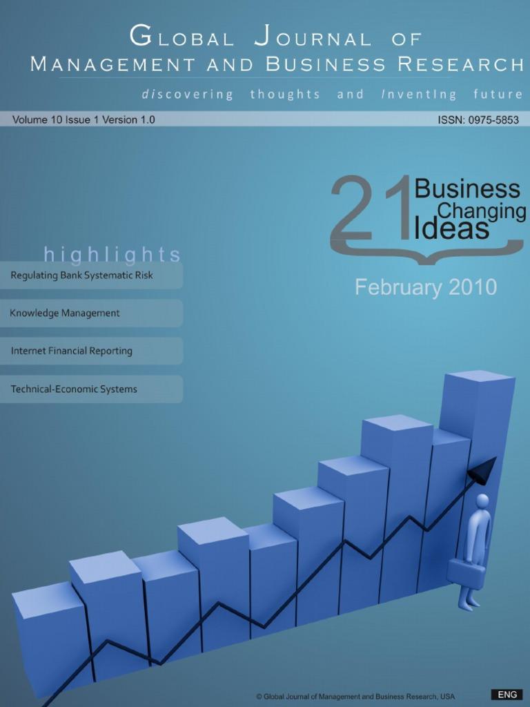 Artigo 1 - The Innovation Process Under The Perspective Of ...