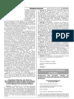 Ordenanza que aprueba cambio de Zonificación de predio ubicado en el distrito de Huaral