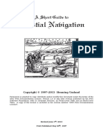 A Short Guide to Celestial Navigation - Umland