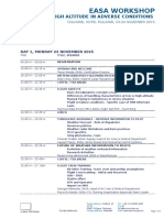 EASA Flight at High Altitude - Ws Nov. 2015_Agenda_Draft 2 by DSO-Aco