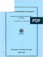 Coastal Karnataka Calling!!! Tourism and the Coastal Investors Meet – December 2003