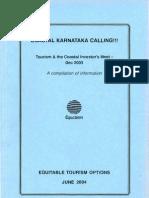 Coastal Karnataka Calling!!! Tourism and the Coastal Investors Meet – December 2003