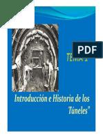 Tema 01 Historia de Los Tuneles