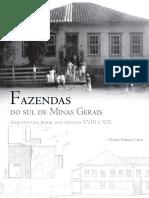 CRUZ - Fazendas Do Sul de Minas Gerais