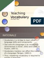 Upload Teachingvocabulary 140318213431 Phpapp02