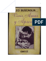 Vivir, amar y aprender - Leo Buscaglia                                             - $1.800