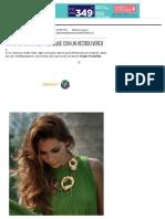 Cómo combinar el maquillaje con un vestido verde - MaquillajeRossa.pdf