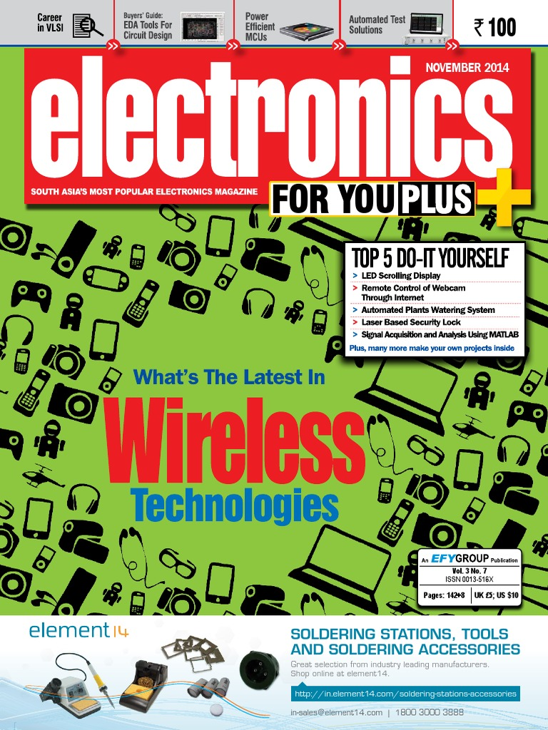 Electronics For You Magazine Headphones Tablet Computer Am Fm Radio Pcb Circuit Board And View Pcba