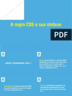 Apresentação da sintaxes CSS