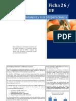 26 Ficha - Naranjas y Sus Preparaciones