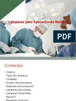 Lamparas Para Aplicaciones Medicas